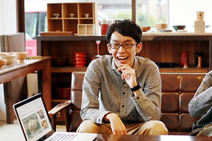 「TSUGI」代表の新山直広さん