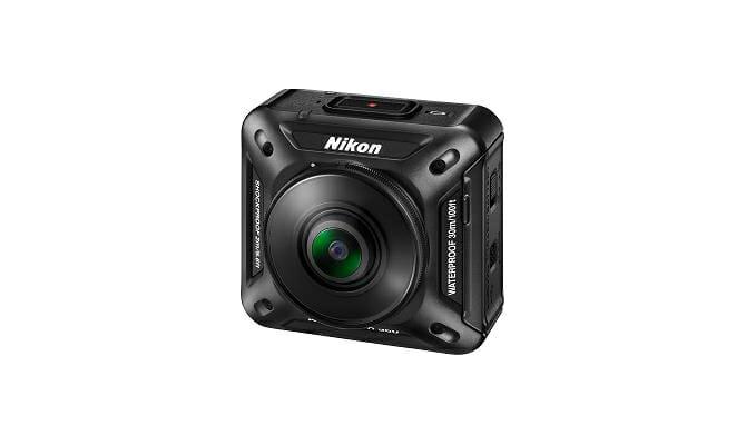360°全方位を4K UHDで録画可能、ニコン初のアクションカメラ「KeyMission 360」が「CES 2016」でお目見え