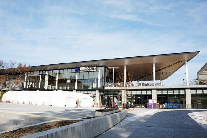 「WE STAGE」の舞台となった、地上駅の国際センター駅