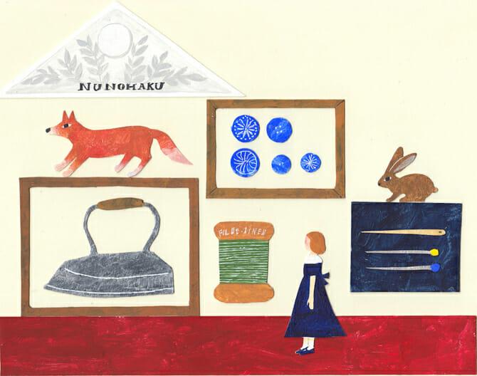 テキスタイルとそれにまつわる作家70組が集結、手紙社主催「布博 in 京都 vol.3」が2月6日から開催