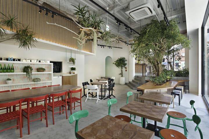 SI・EMPRE CAFE & MARKET + PALETAS 代官山店 (2)