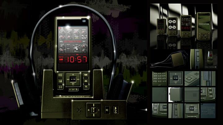 NTT DOCOMO「MUSIC PORTER X」/ART DIRECTION, PRODUCT DESIGN, GUI DESIGN