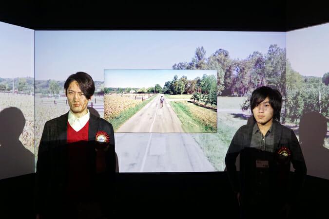 ノガミカツキ氏(左)と橋本麦氏(右)