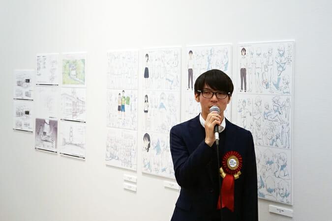 「台風のノルダ」で初監督を務めた新井陽次郎氏