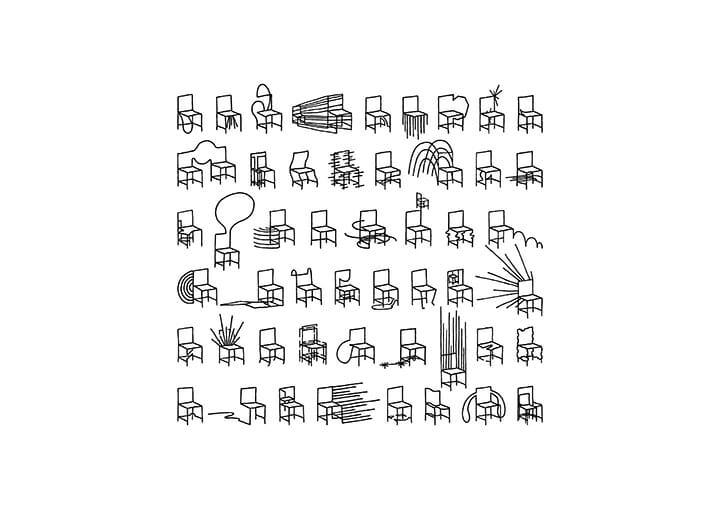 50 manga chairs(nendo)