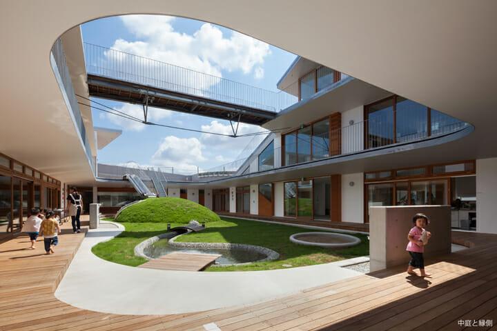 あまねの杜保育園 | 空間デザイン事例 | デザイン情報サイト[JDN]