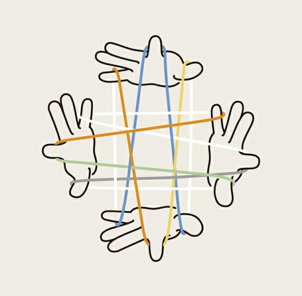 「地域×デザイン -まちを編みなおす20のプロジェクト-」メインビジュアル