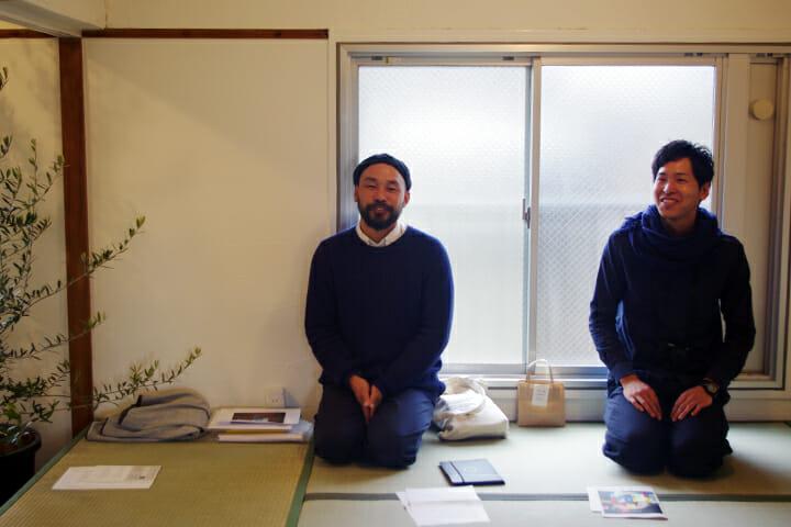 GREEN SPACEの辰己二朗さん(左)とスタッフの中山さん