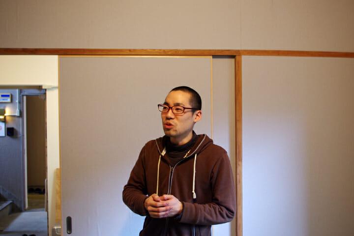現代美術家の松延総司さん