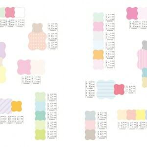 季節を感じる配色パターン (2)