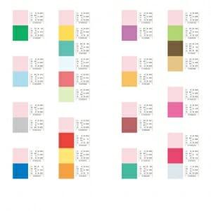 季節を感じる配色パターン (6)