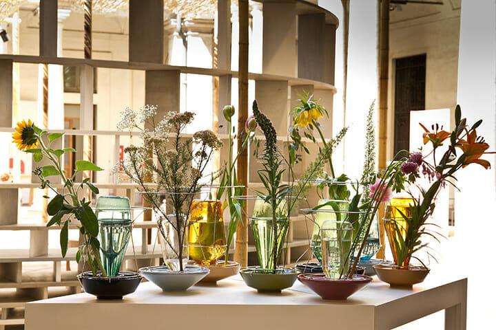 「A Matter of Perception」展にて、Valerie_Objectsが展示したオランダのクリス・カベルによる新作「Hidden Vase」 ©Rafael Medina Adalfio