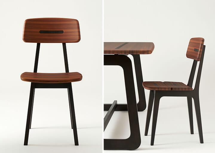 飛騨産業の「Gifoï」、デザインはスイスの建築・デザイン事務所アトリエ・オイ