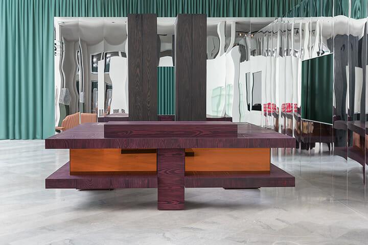 恒例の「Wallpaper Handmade」展で展示された作品、'The Barony' bar / Glenn Sestig Architects, Dinesen and Ocular ApS