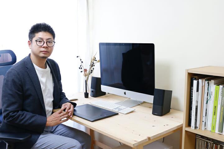 グラフィックデザイナー・栗崎洋さん
