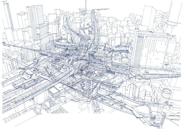 「渋谷駅解体」田中智之