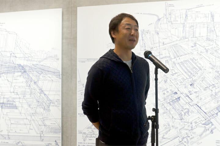 展覧会ディレクターの西村浩さん