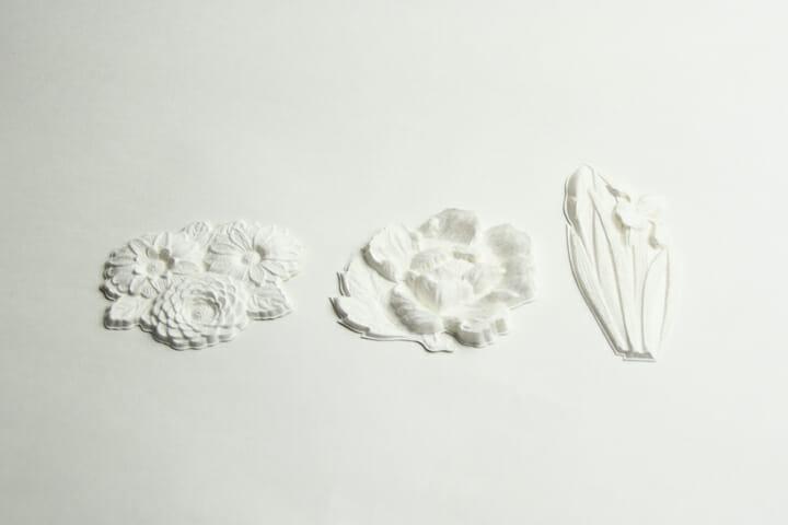 花カード(white)
