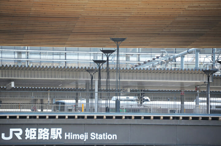 姫路駅北広場、大手前通り ストリートファニチャー