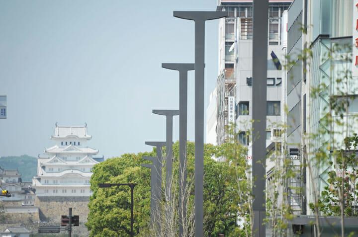 姫路駅北広場、大手前通り ストリートファニチャー (7)
