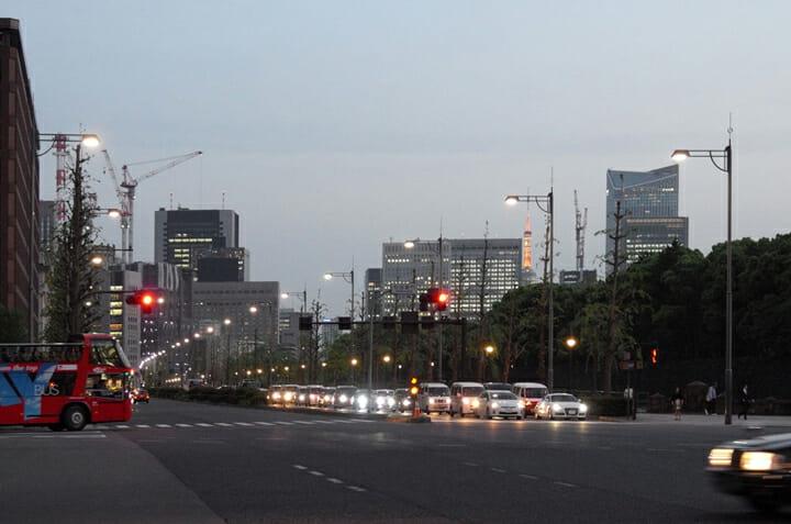 皇居周辺道路 照明 (6)