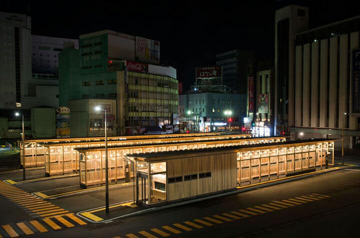秋田駅西口バスターミナル