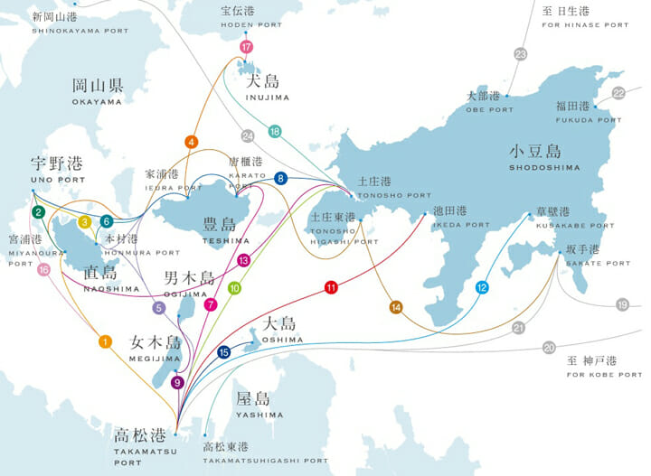 瀬戸内地図