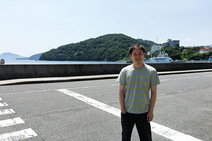 UMA/design farm代表の原田祐馬さん
