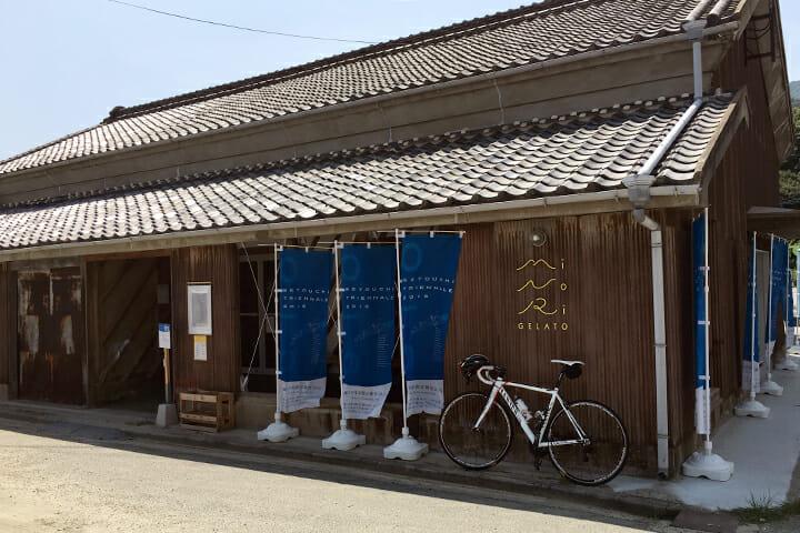 「Shodoshima Gelato Recipes Project by カタチラボ」の企画による「MINORI GELATO」。観光客に大人気でした