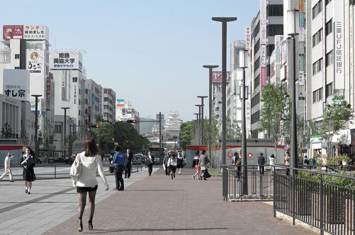 姫路駅北広場、大手前通り ストリートファニチャー (6)