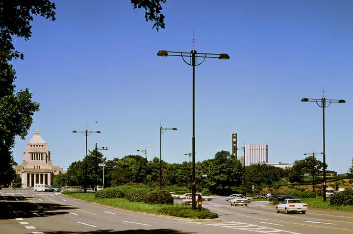 皇居周辺道路 照明 (2)
