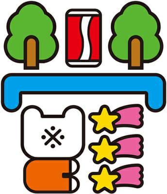 天久聖一 × よシまるシン 「ロゴゴ展」