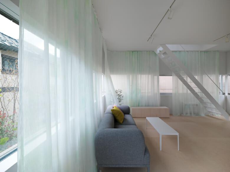 練馬ハウスのカーテン (2)