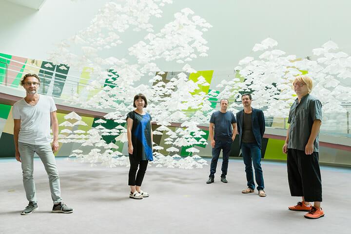 ミラノで注目されたCASA GIFUのエッセンス「Paper Garden ‒ atelier oï and SPREAD」