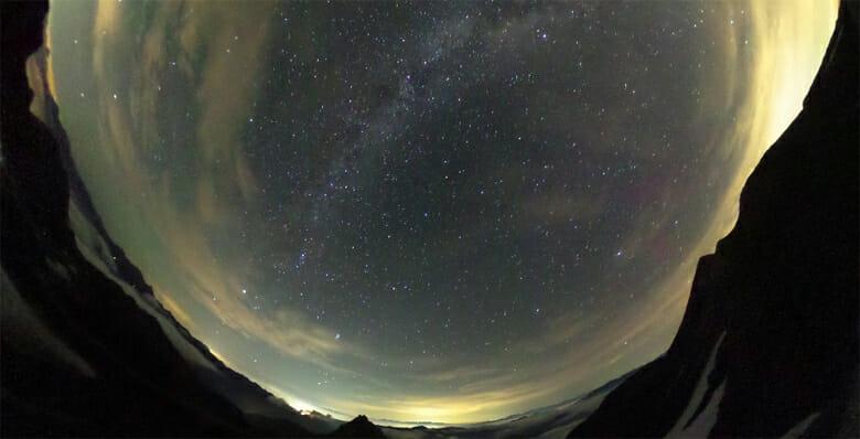 Milky Way from an Norikura Observatory / Katsuya Yamamoto / Mt. Marishiten-dake, Japan