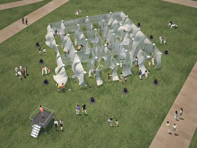 ライゾマティクス・アーキテクチャーによる大型展示も登場、「Tokyo Midtown DESIGN TOUCH」が10月14日から開催