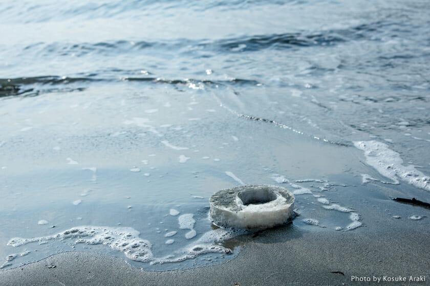 天然素材のため、もし海に流れたとしても海洋生物に害はないという