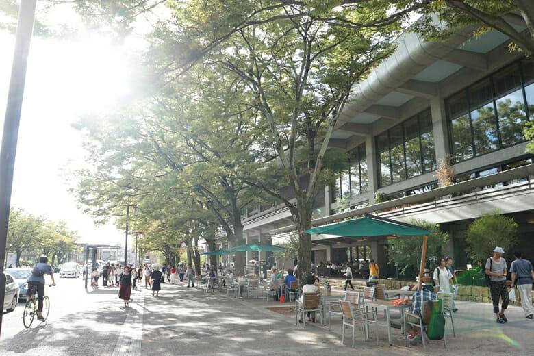 京都ロームシアター周辺