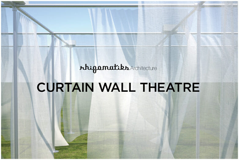 「CURTAIN WALL THEATRE」特設サイト https://architecture.rhizomatiks.com/s/works/cw_theatre/