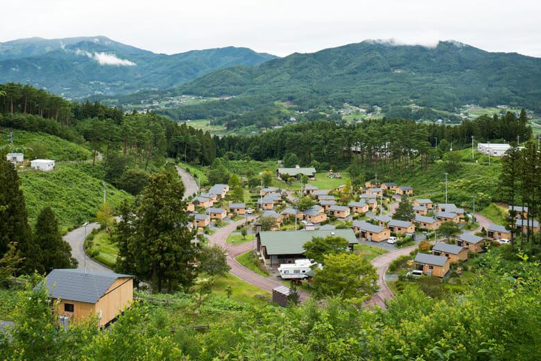 陸前高田の仮設住宅