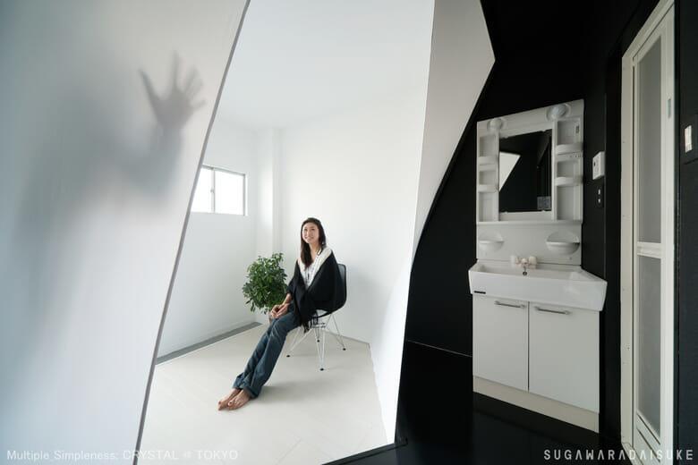 集合住宅リノベーション CELL+fabric/wood