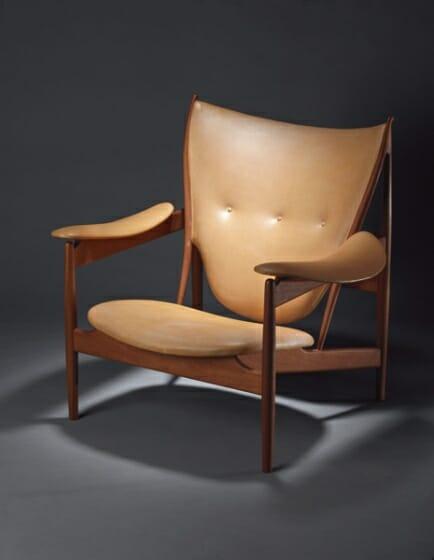 フィン・ユール《チーフテンチェア/エジプシャンチェア》1949年 デンマーク・デザイン博物館photo : Designmuseum Danmark / Pernille Klemp
