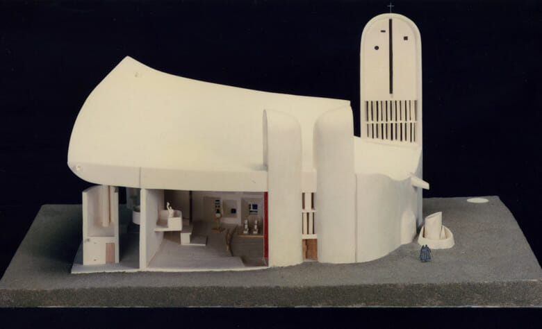 特別展示 ル・コルビュジエの建築模型