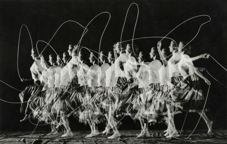 縄跳び/ハロルド・E・エジャートン/1952年/ゼラチンシルバー・プリント
