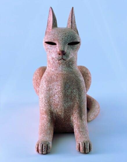 大塚茂吉《猫》2005年 東京国立近代美術館蔵