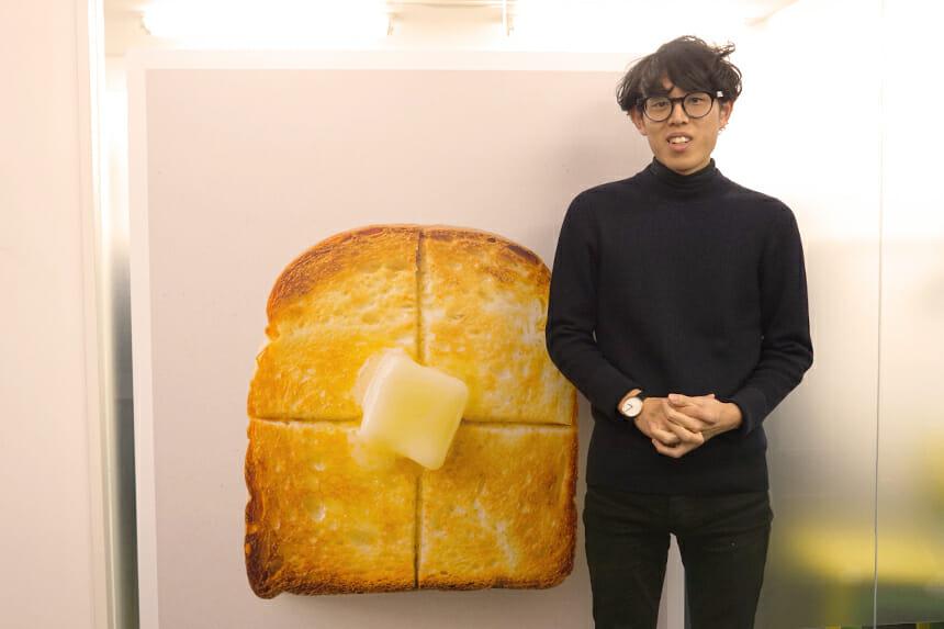 バルミューダ株式会社 クリエイティブ企画室 デザイナー 松藤恭平さん