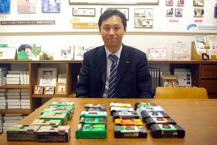 富士フイルム イメージングシステムズ株式会社 営業推進部の築地紀和さん