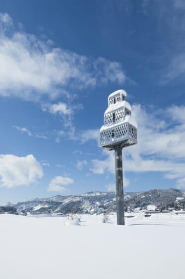 ジャウマ・プレンサ「鳥たちの家」Photo:Osamu Nakamura