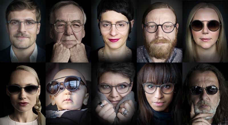 20周年を迎えるアイウェアブランド「ic! berlin」の新作は、実際に働くスタッフをモデルにしたシリーズ