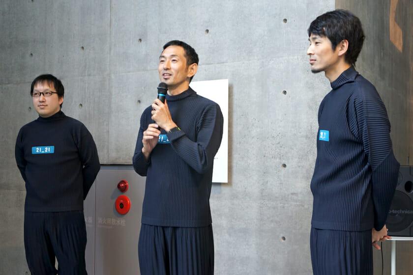 (写真左から)菅俊一さん、為末大さん、緒方壽人さん